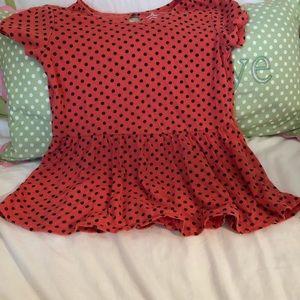 Old navy peplum blouse